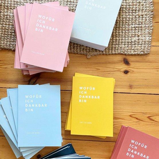 Dankbarkeitstagebuch von Life Barn - alle Farben