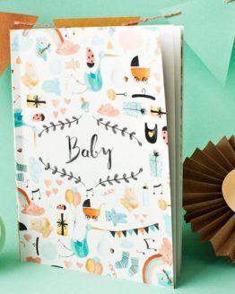 Bär von Pappe – Babybuch
