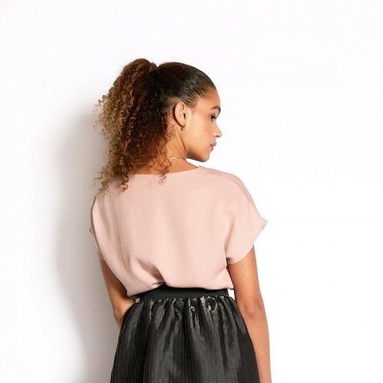 Bluse BEAT in Rose Größe S