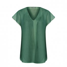"Bluse ""Aqua Beat"" aus Tencel in Petrol 21519"