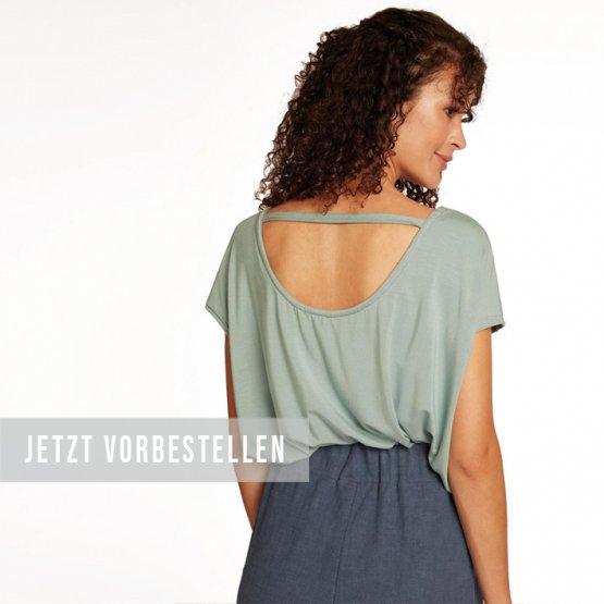 Rückenfreies Shirt FARI in hellblau