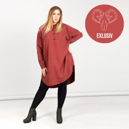 WiDDA exklusiv Tunika Komfi in rot