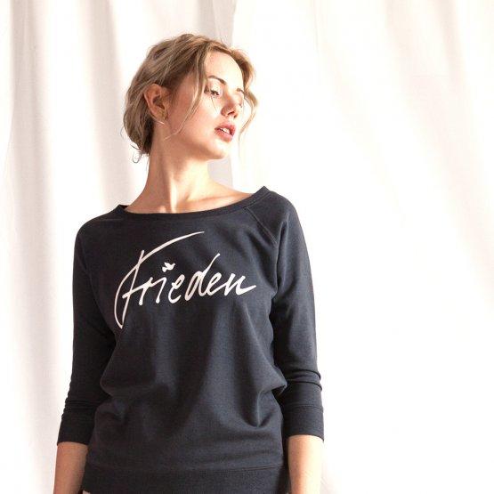 """Wir unterstützen Terre des Femmes mit Pullover """"Frieden"""" 32018"""