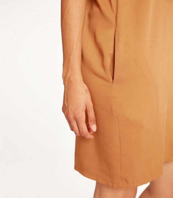 Kleid Caro in Curry