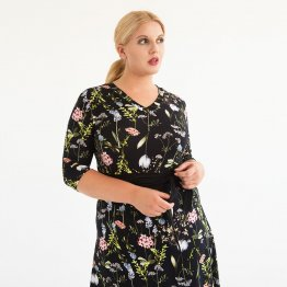 "Kleid in Wickeloptik ""Flori"" 54019"
