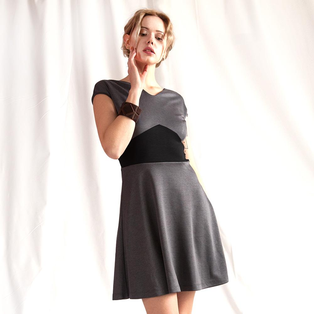 """Kleid """"Käthe"""" grau 20"""