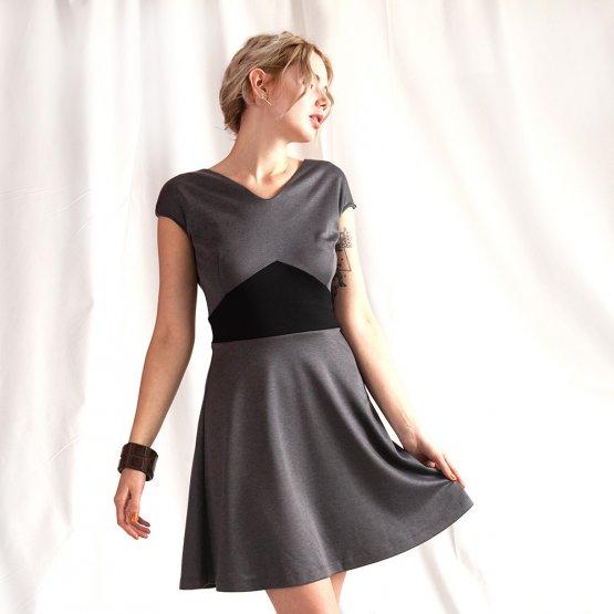 """Kleid """"Käthe"""" grau 54218"""