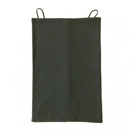 Maskenschal in grau schwarz Bio Baumwoll jersey