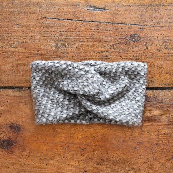 """Stirnband aus Wolle """"Grise"""" 99218"""