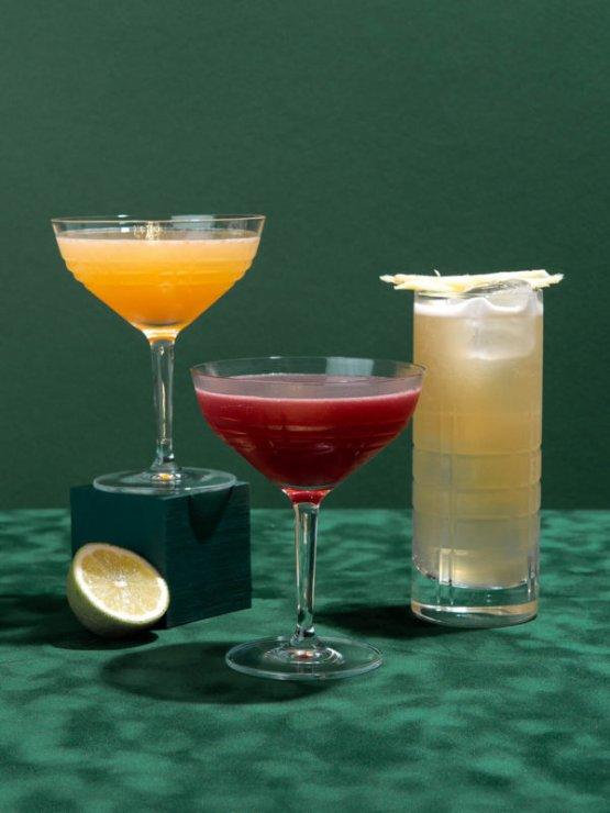 Cocktail Box Tiki Style mit Rum vom Drink Syndikat