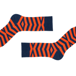 """gestreifte Socken """"Foster"""" von Sammy Icon"""