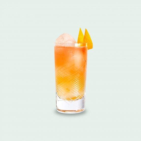 Cocktail Botanical Garden mit Gin vom Drink Syndikat - Frechener Landweinschorle