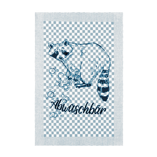 Ahoi Cat Geschirrtuch Abwaschbär