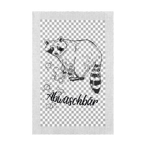 waschbär geschirrtuch von ahoi cat