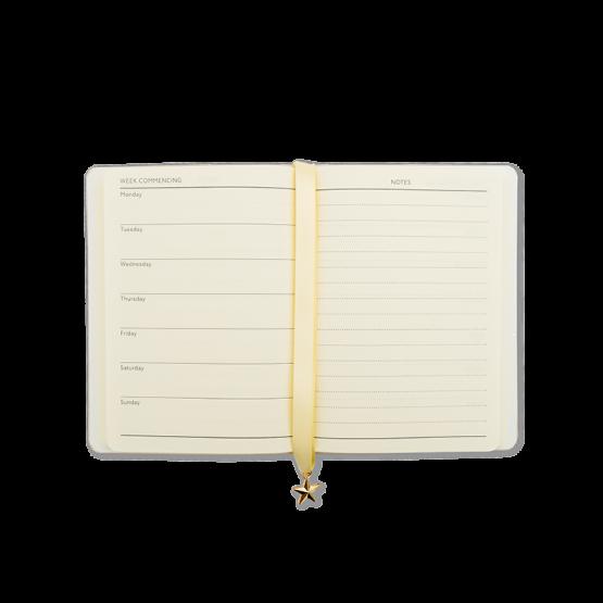 Kalender Glitter – Taschenkalender Jahresplaner in Glitzergold