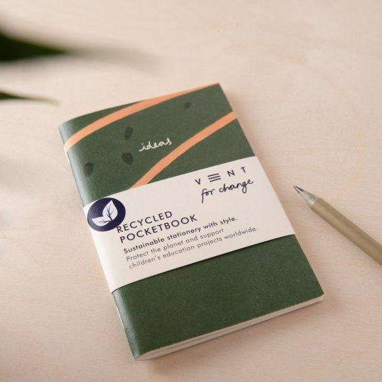 A6 pocket oliv