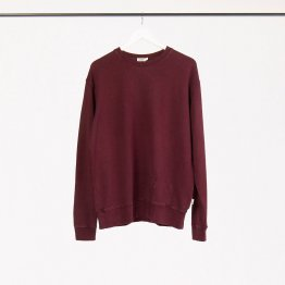 """Pullover """"Marsh"""" aus Hanf - weiches Sweatshirt in einem Pflaume-Ton für Frauen und Männer"""