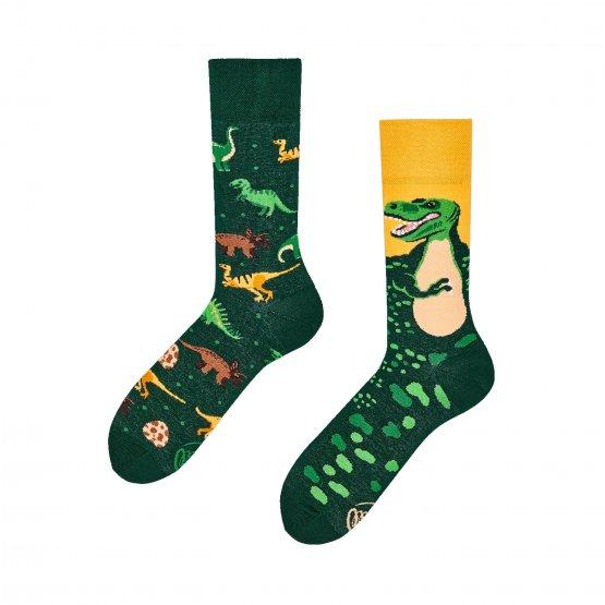 Socken mit Dinosaurierns von Many Mornings