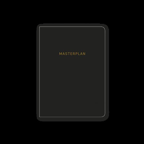 Kalender Masterplan – Taschenkalender Jahresplaner für 2019