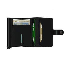 SECRID Miniwallet in matt Schwarz
