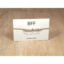 Morse Code Armband BFF