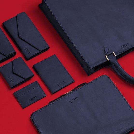 schwarze Lederartikel von O My Bag