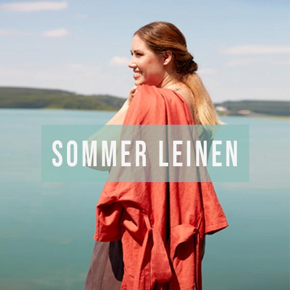 Neue Sommermode aus Leinen