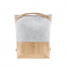 Rucksack aus Kork und recyceltem PET von UlSto