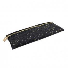 schwarze Federtasche aus Kork udn recyceltem PET von Ulsto Bags