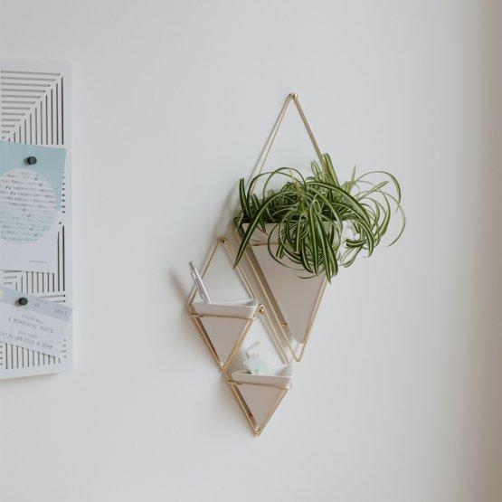 Geometrische Wandvasen