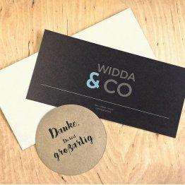 Geschenk Gutschein von WiDDA
