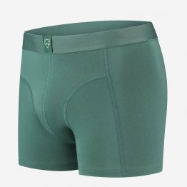 grüne Retropants von A-dam Underwear aus Bio-Baumwolle und Econyl
