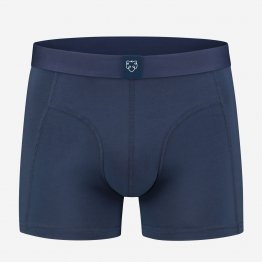 dunkelblaue Retropants von A-dam Underwear aus Bio-Baumwolle und Econyl