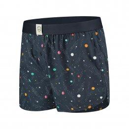 Boxer-Shorts mit Weltraum-Motiv von Adam Underwear aus Bio-Baumwolle