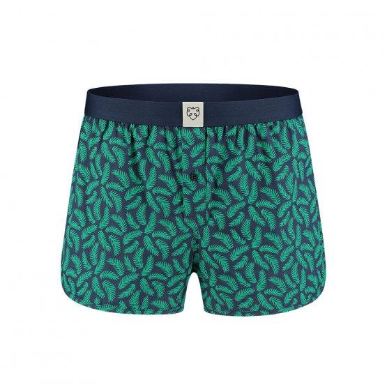 Boxershorts aus Biobaumwolle mit Palmenblättern - von A-dam Underwear