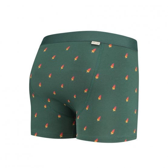 grüne Retropants mit Eis am Stil aus Bio-Baumwolle von A-dam Underwear
