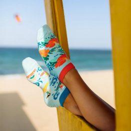 Aloha Vibes Sneakersocken