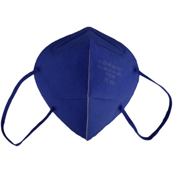 bunte FFP2 Masken iin Blau