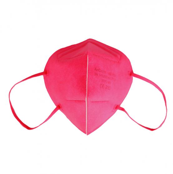 bunte FFP2 Masken in Pink