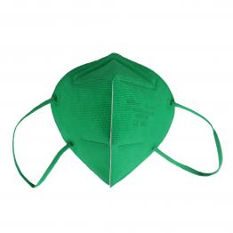 bunte FFP2 Masken in Grün
