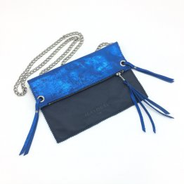 icevogel clutch blau metallic