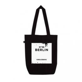 "Beutel ""Kreuzberg"" in Schwarz von Dit is Balin"