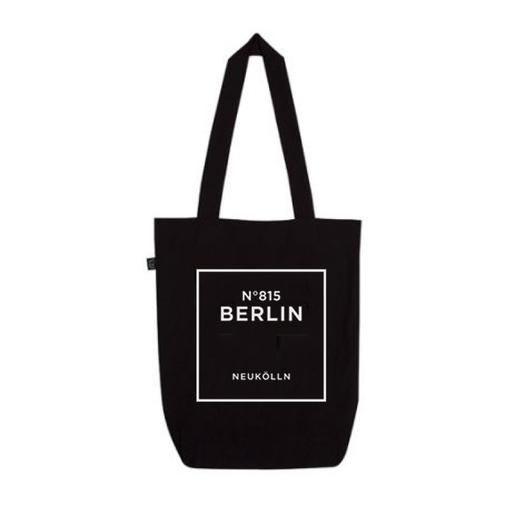 """Beutel """"Neukölln"""" in Schwarz von Dit is Balin"""