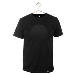 "T-Shirt ""Black Moon"" in Schwarz von Dit is Balin"