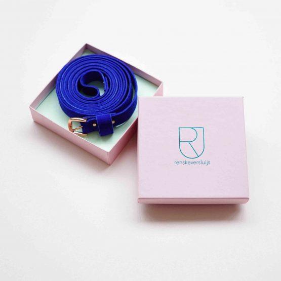 Wickelgürtel in Kobalt Blau