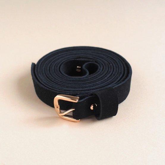 Wickelgürtel in schwarz