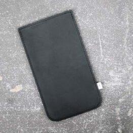 Handycas aus schwarzem Leder von Elektropulli