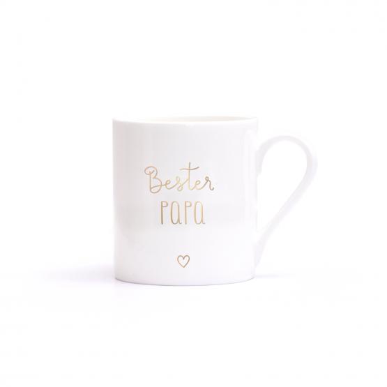Porzellantasse für den besten Papa - Geschenk zum Vatertag