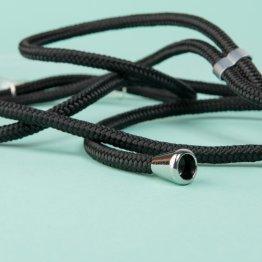 Handykette schwarz – mobile necklace von xouxou