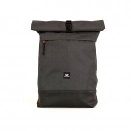 Rucksack – Courier Bag von Freibeutler Charcoral Dunkelgrau